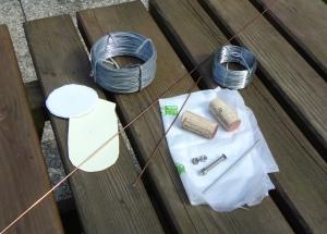 mini-sailboat,material