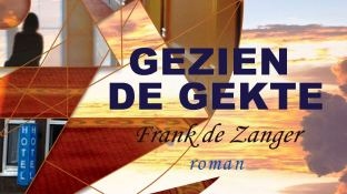 omslag roman 'GEZIEN DE GEKTE'