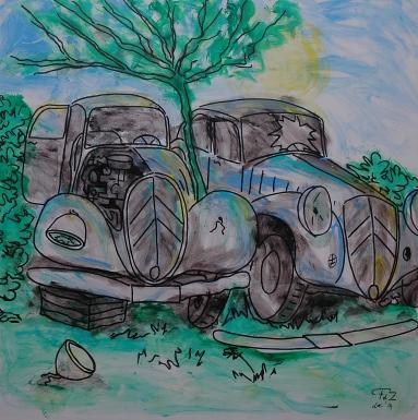 FdeZanger,Vergane Glorie,expositie,Artishock,Soest,jan2015