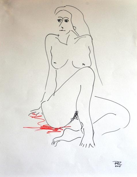 vrouw-zittendvan-vorenauto-correctie
