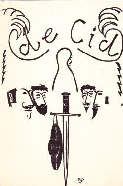 De Cid,omslag programma,FdZ,15 jr