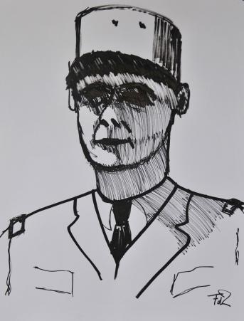 Charles de Gaulle door Frank de Zanger