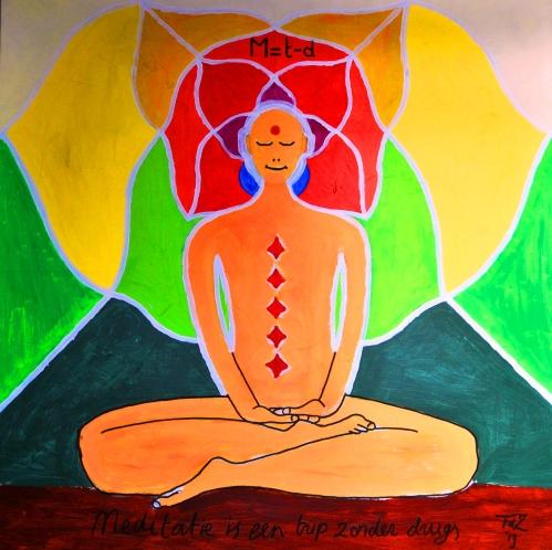 M=t-d, Meditatie is een trip zonder drugs, Frank de Zanger